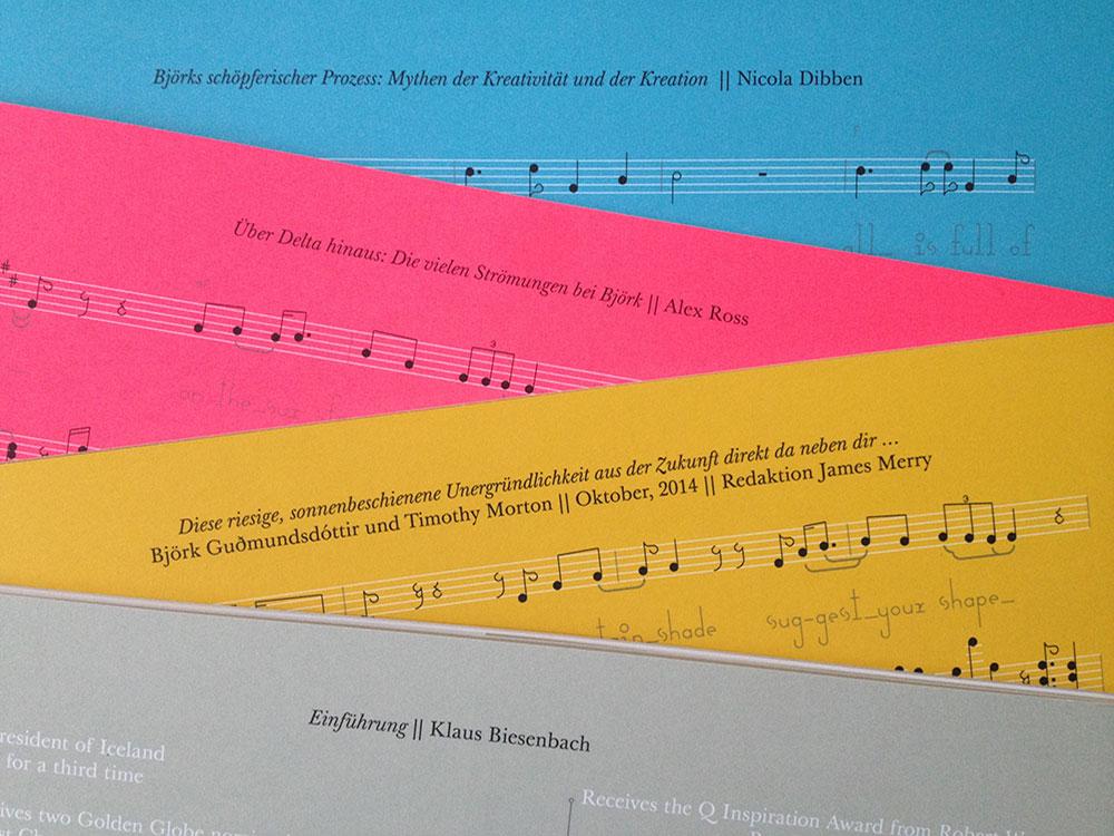"""4 von 5 Bücher aus der """"Björk : Archives""""- Box"""