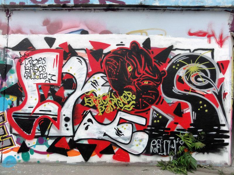 black-panther-hanauer-landstrasse-graffiti-in-frankfurt