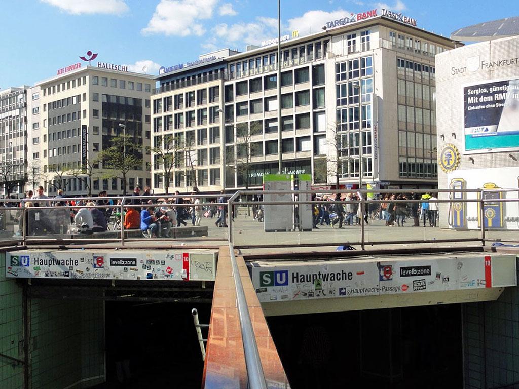 Hauptwache in Frankfurt am Main