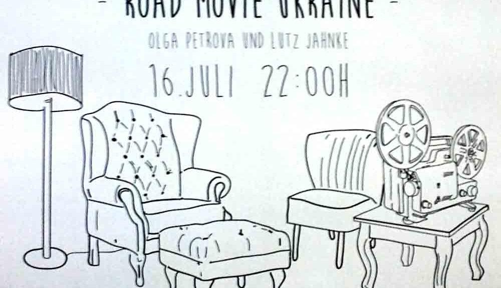 Wasserhäuschen Feion zeigt Road Movie Ukraine