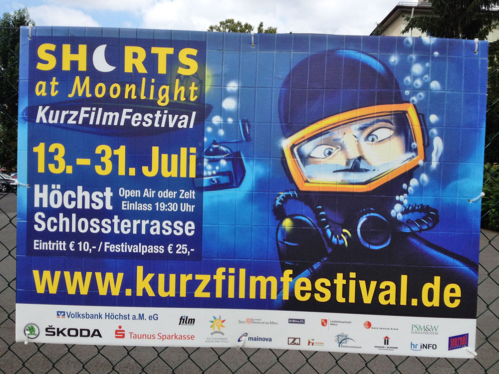 SHORTS AT MOONLIGHT - KURZFILMFESTIVAL IN FRANKFURT AM MAIN
