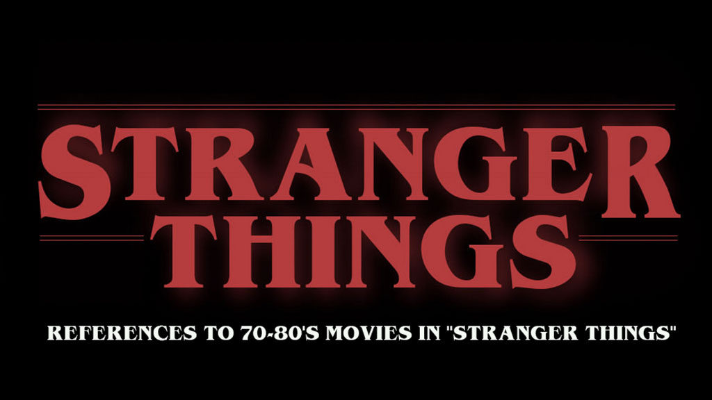 """Video zeigt References to 70-80's movies in """"Stranger Things"""""""