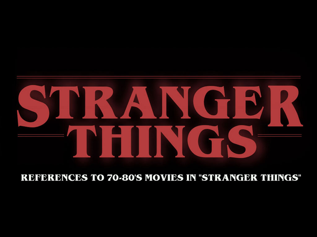 "Video zeigt References to 70-80's movies in ""Stranger Things"""