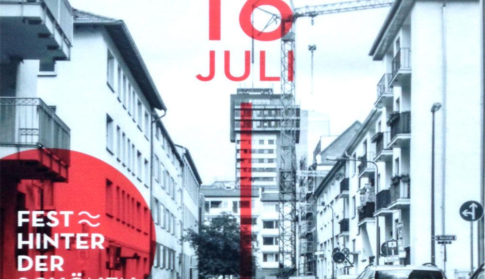 Straßenfest Hinter der Schönen Aussicht in Frankfurt