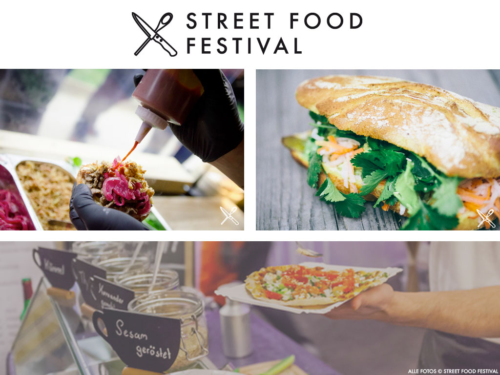 Street Food Festival 2016 in Frankfurt