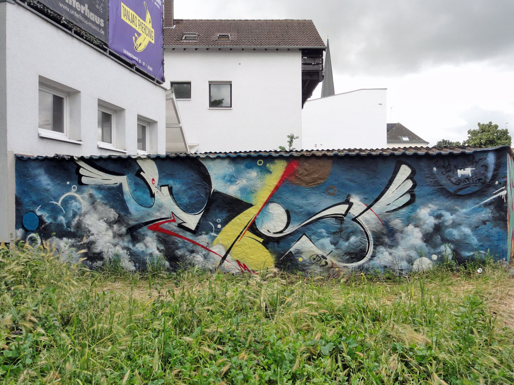 Graffiti in Wiesbaden - MOS 2016