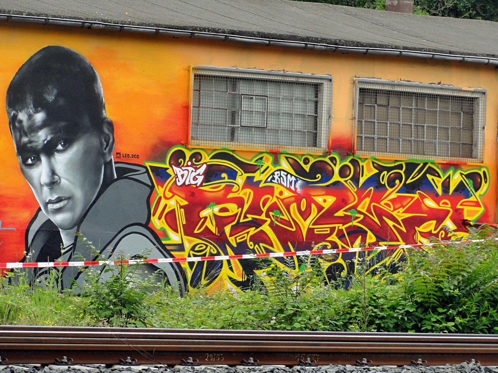 Graffiti in Wiesbaden - MOS 2016