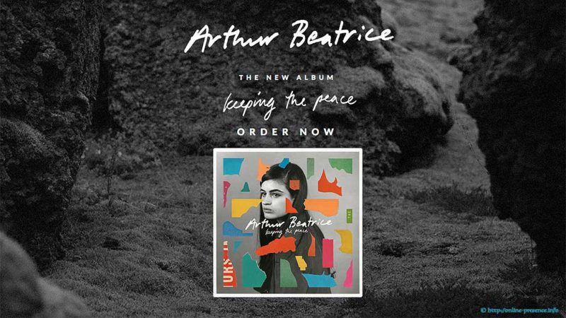 Arthur Beatrice - Keeping the peace - Website Screenshot