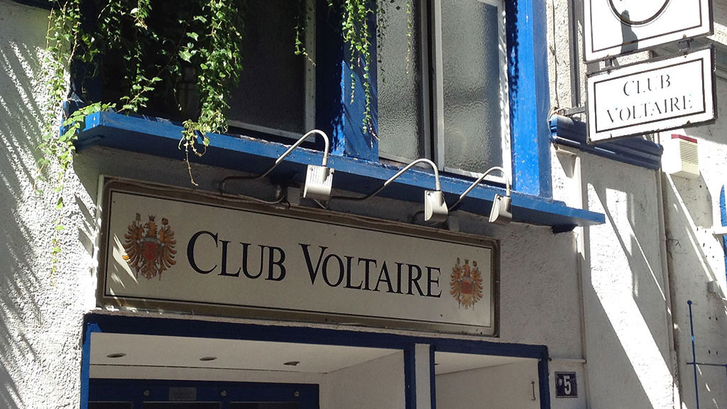 Club Voltaire in Frankfurt