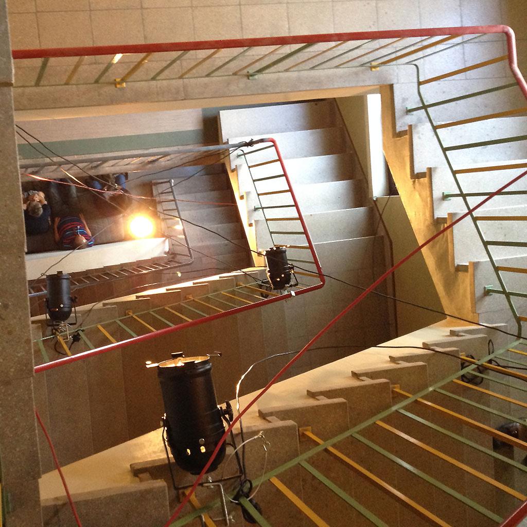 Treppenhaus im Atelierfrankfurt