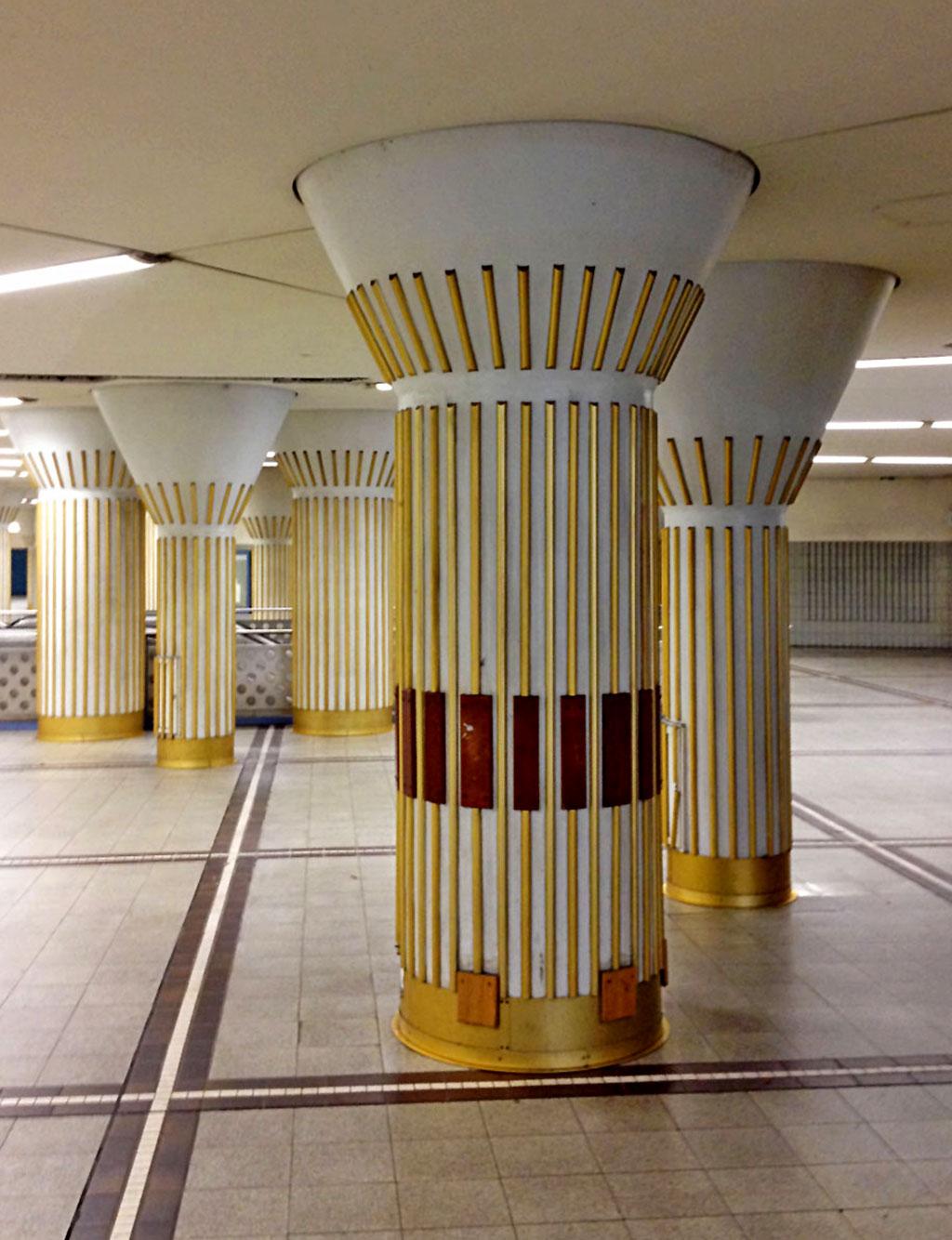 U Bahn Station Bockenheimer Warte