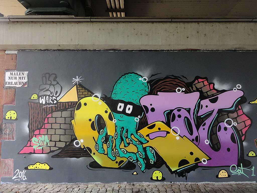 Ill Zoo Graffiti