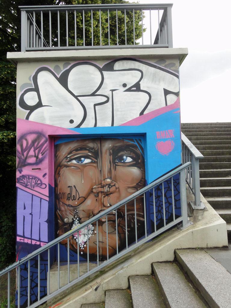 Graffiti in Wiesbaden - Meeting Of Styles 2016