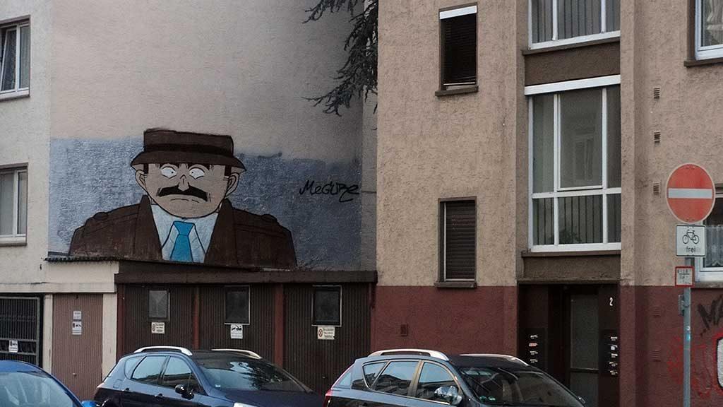 Megure Graffiti in Frankfurt