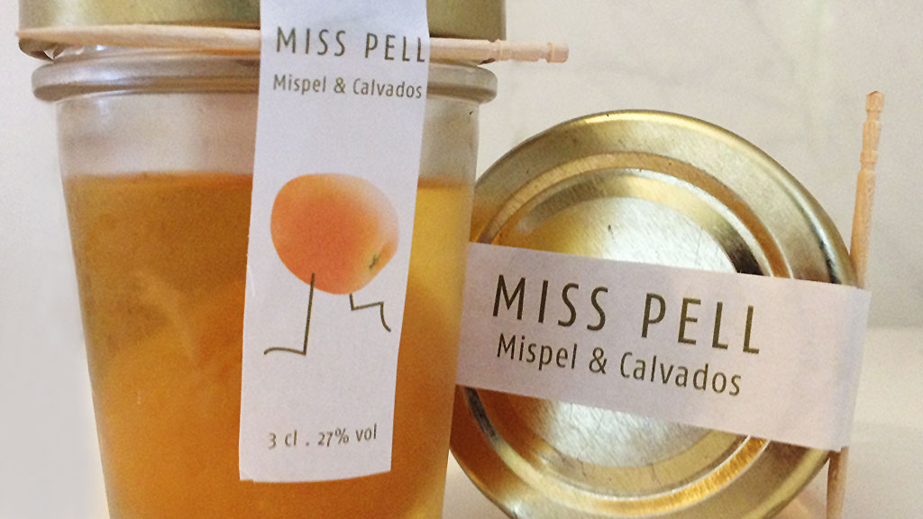 MISS PELL - Mispel und Calvados im Gläschen