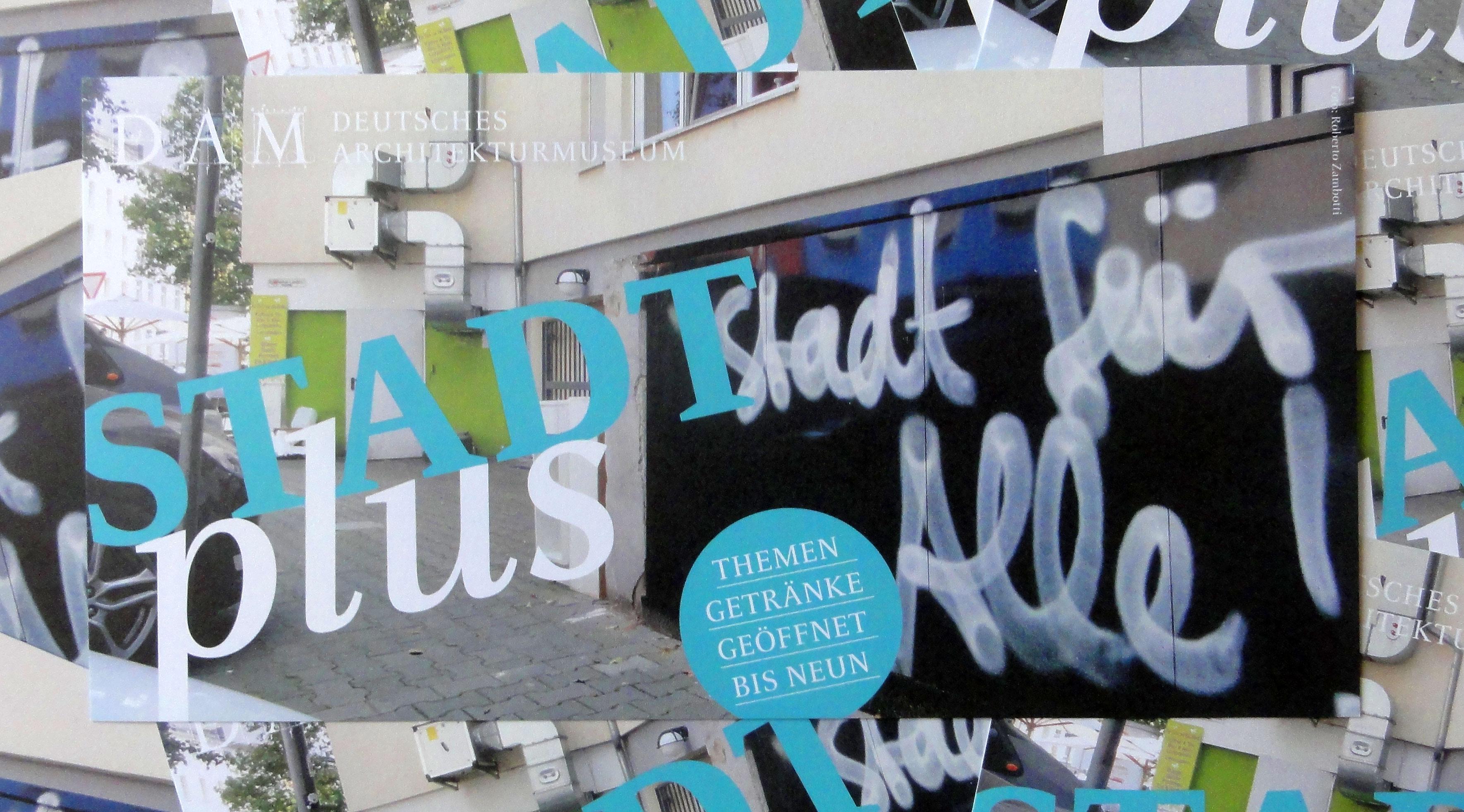 STADTplus - Veranstaltungsreihe im DAM Frankfurt