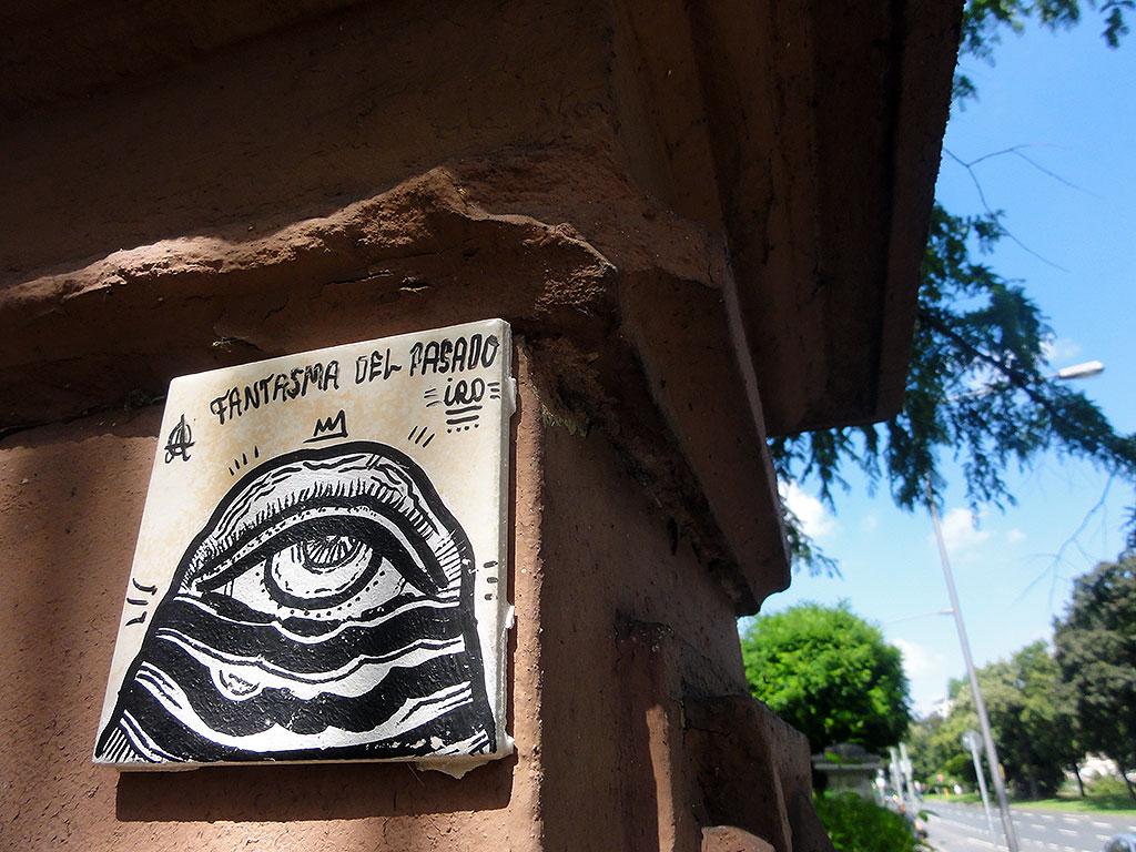 Streetart in Frankfurt von Iro