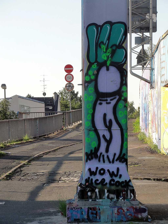 wow-nice-cock-hall-of-fame-ratswegkreisel-frankfurt-graffiti