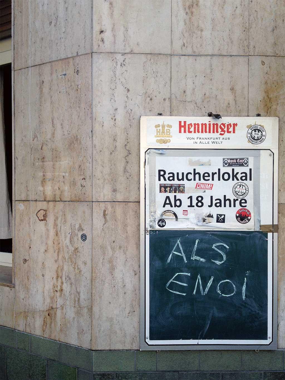 Moseleck Frankfurt: Als enoi