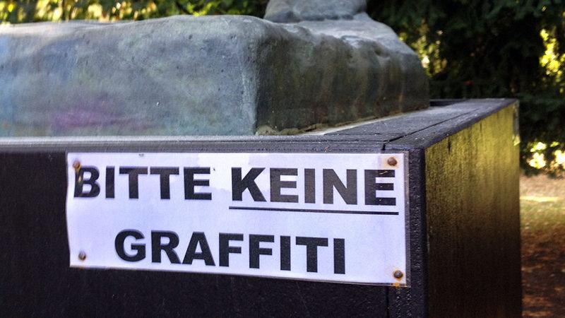 Bitte keine Graffiti