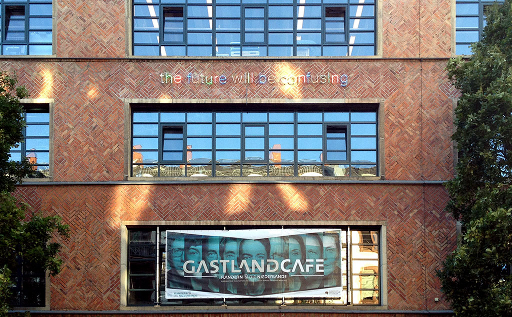 Frankfurter Buchmesse 2016 - Gastlandcafé im Mousonturm