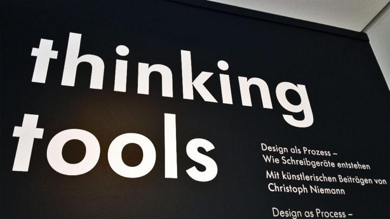 Museum Angewandte Kunst in Frankfurt - Ausstellung Thinking Tools