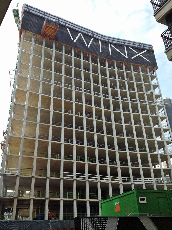 Winx Hochhaus in Frankfurt