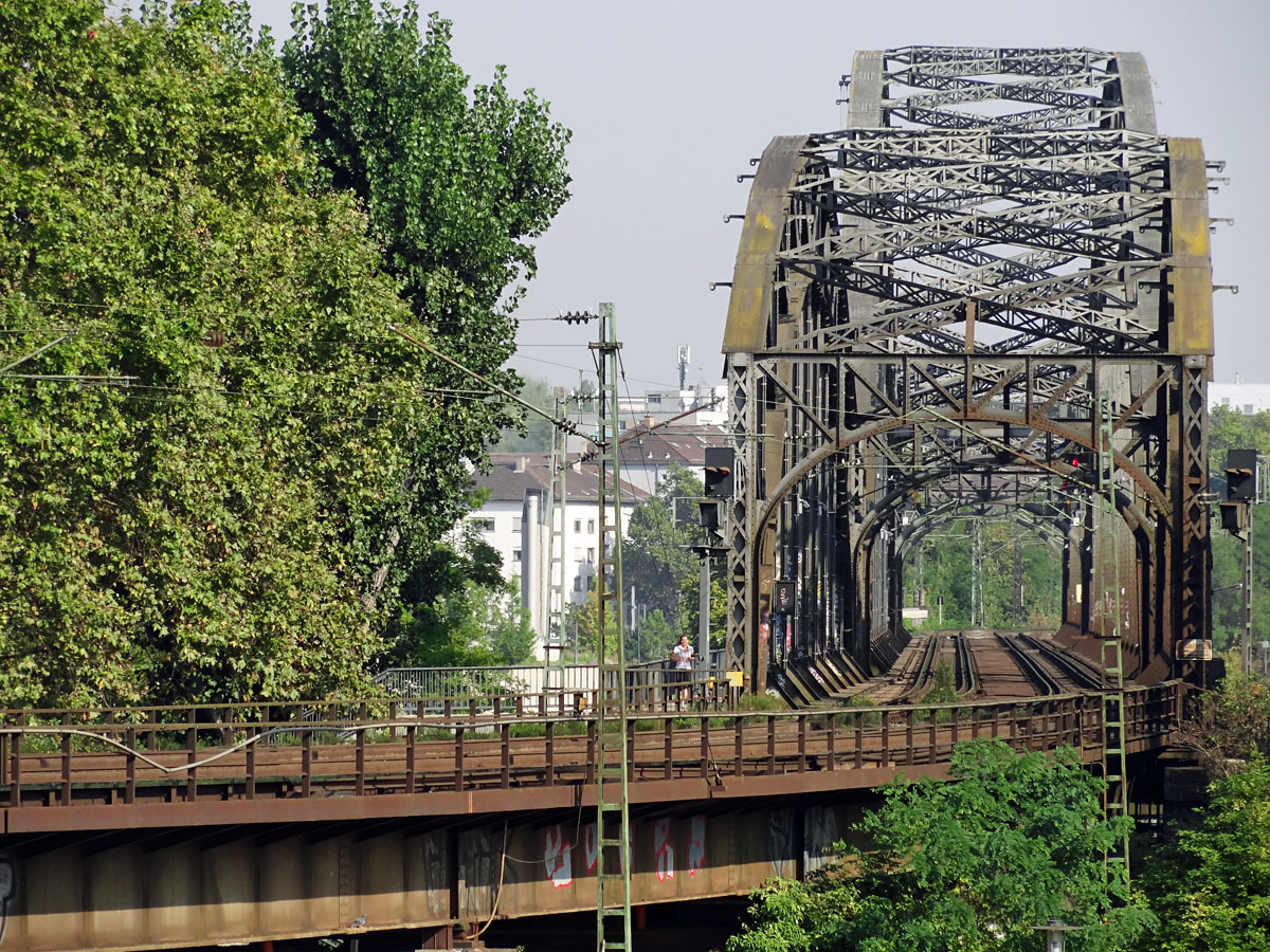 Deutschherrnbrücke in Frankfurt am Main