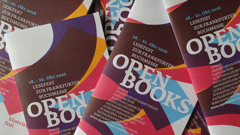 OPEN BOOKS 2016