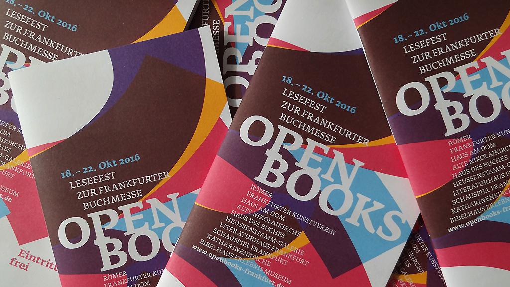 OPEN BOOKS 2016