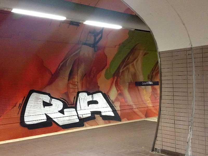 Ostendstrasse-Graffiti
