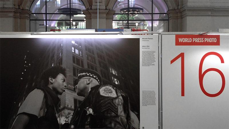World press Photo Ausstellung im Hauptbahnhof Frankfurt