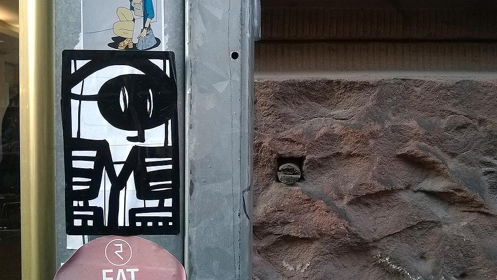 Streetart in Frankfurt von PYC