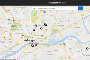 Record Stores in Frankfurt - Map von recordstore.love