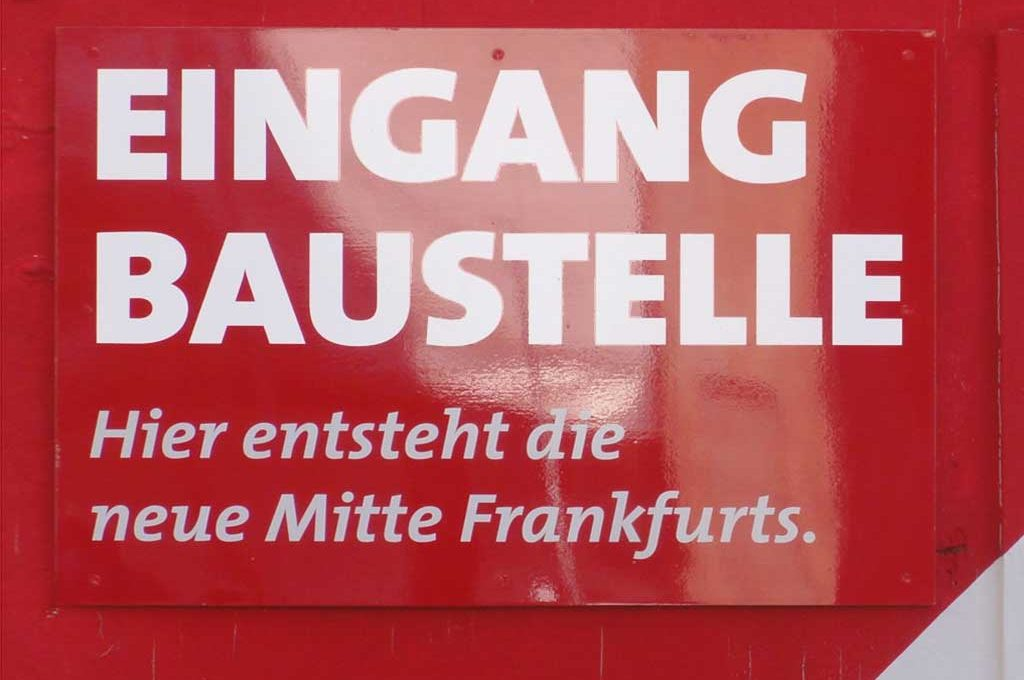 Baustelle Neue Frankfurter Altstadt