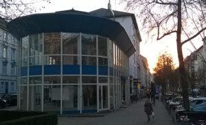 Ehemalige Tomin-Videothek in der Berger Straße