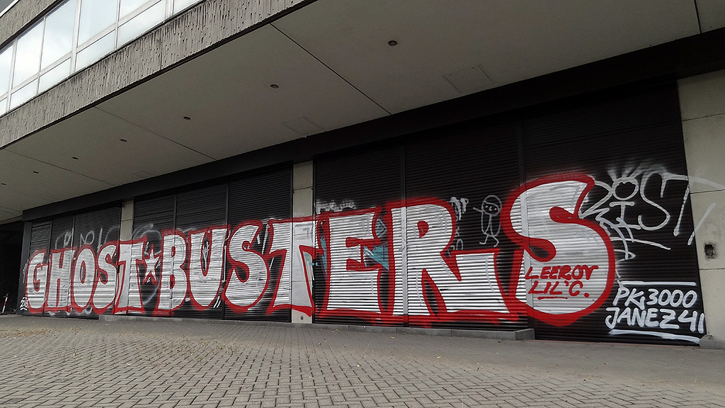 Graffiti in Offenbach: GHOSTBUSTERS