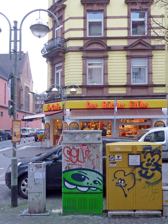 Cityghosts in der Berger Straße