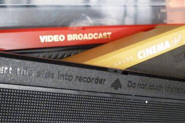 VHS Videocasseten
