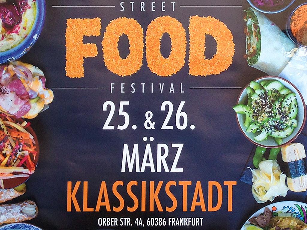 Street Food Festival in der Klassikstadt in Frankfurt