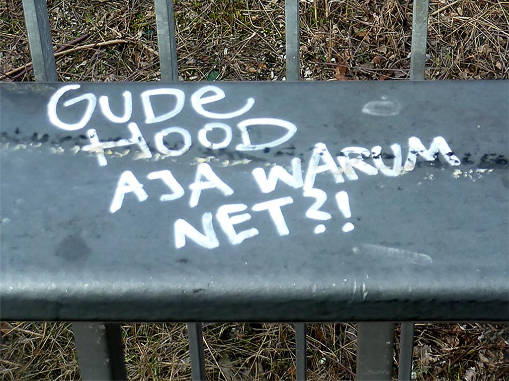 GUDE HOOD - JA WARUM NET?!