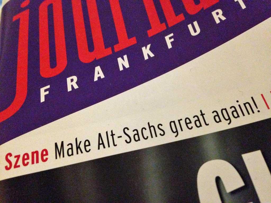 Make Alt-Sachs Great Again