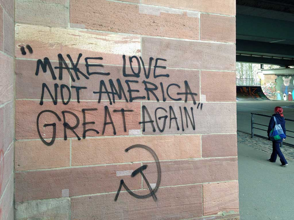 Make Love Not America Great Again