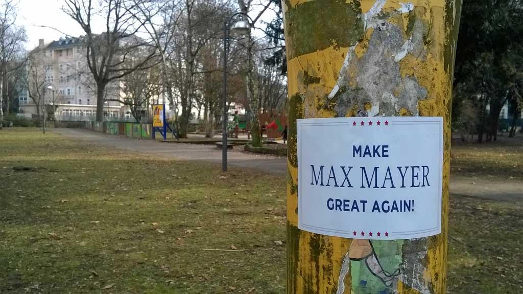 Make Max Mayer Great Mayer