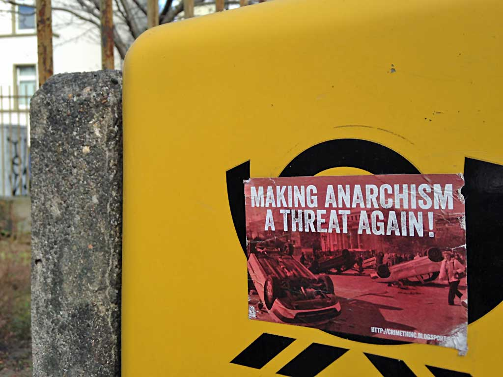 Making Anarchism A Threat Again