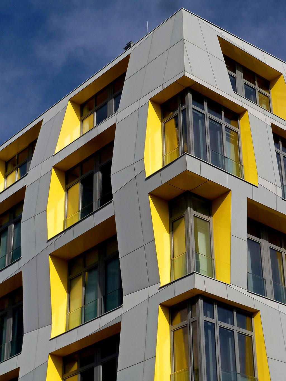"Detailaufnahme: ""Main: East Side Lofts"" in Frankfurt"