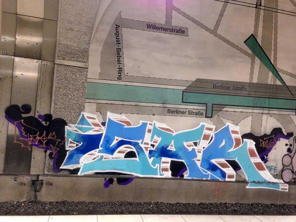 Graffiti in Offenbach - ISAR