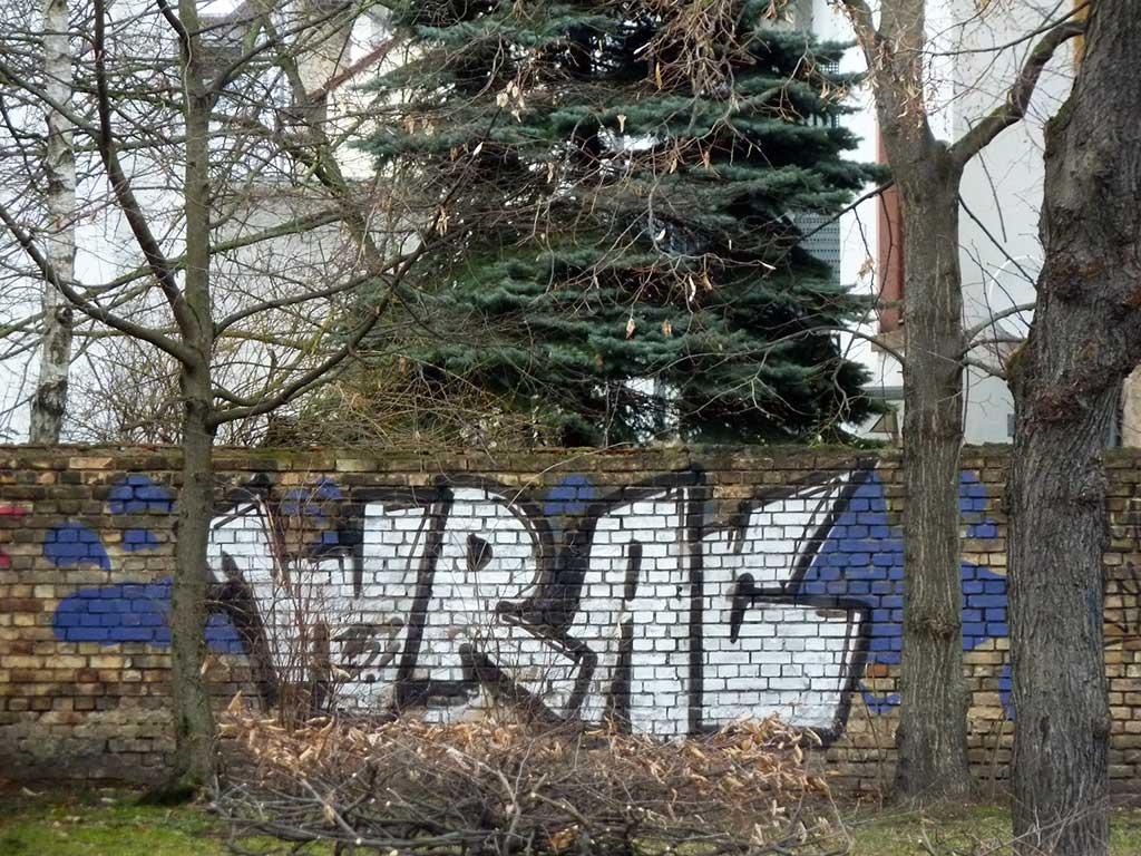 Graffiti in Offenbach - WRAC