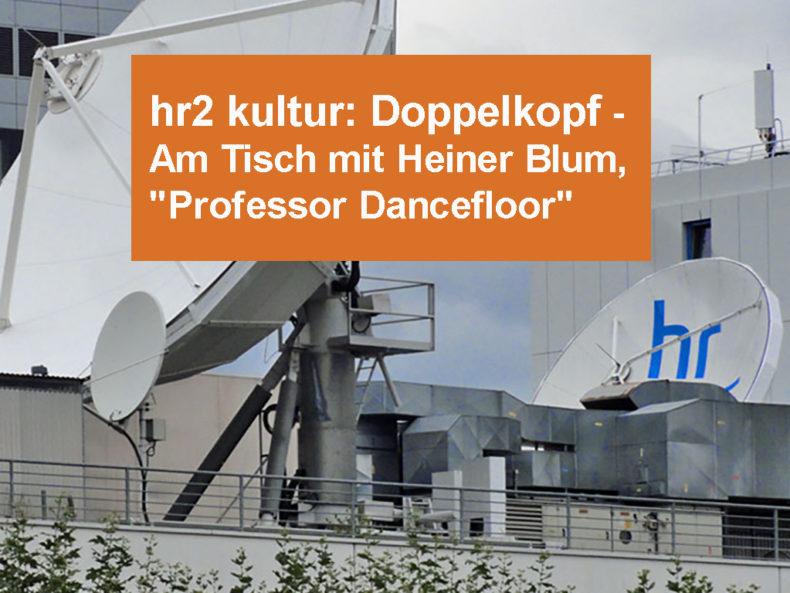 hr2 kultur: Doppelkopf - Klaus Walter im Gespräch mit Heiner Blum