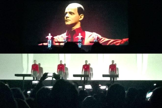 Kraftwerk live in Frankfurt am 1.12.2015